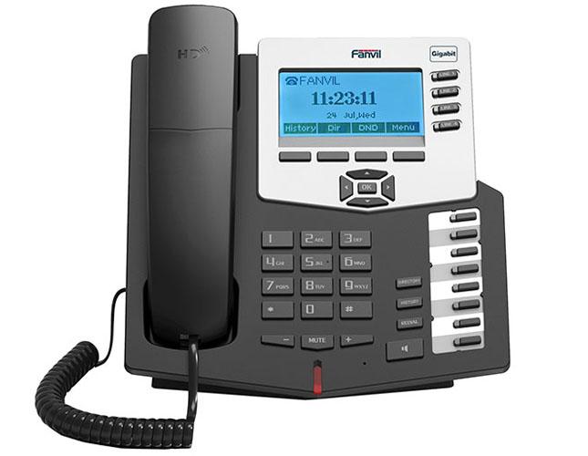方位C66呼叫中心话机