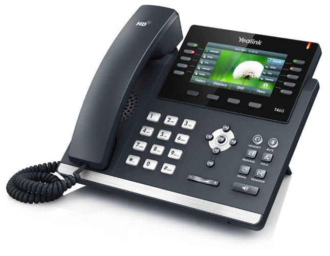SIP-T46G亿联IP电话机